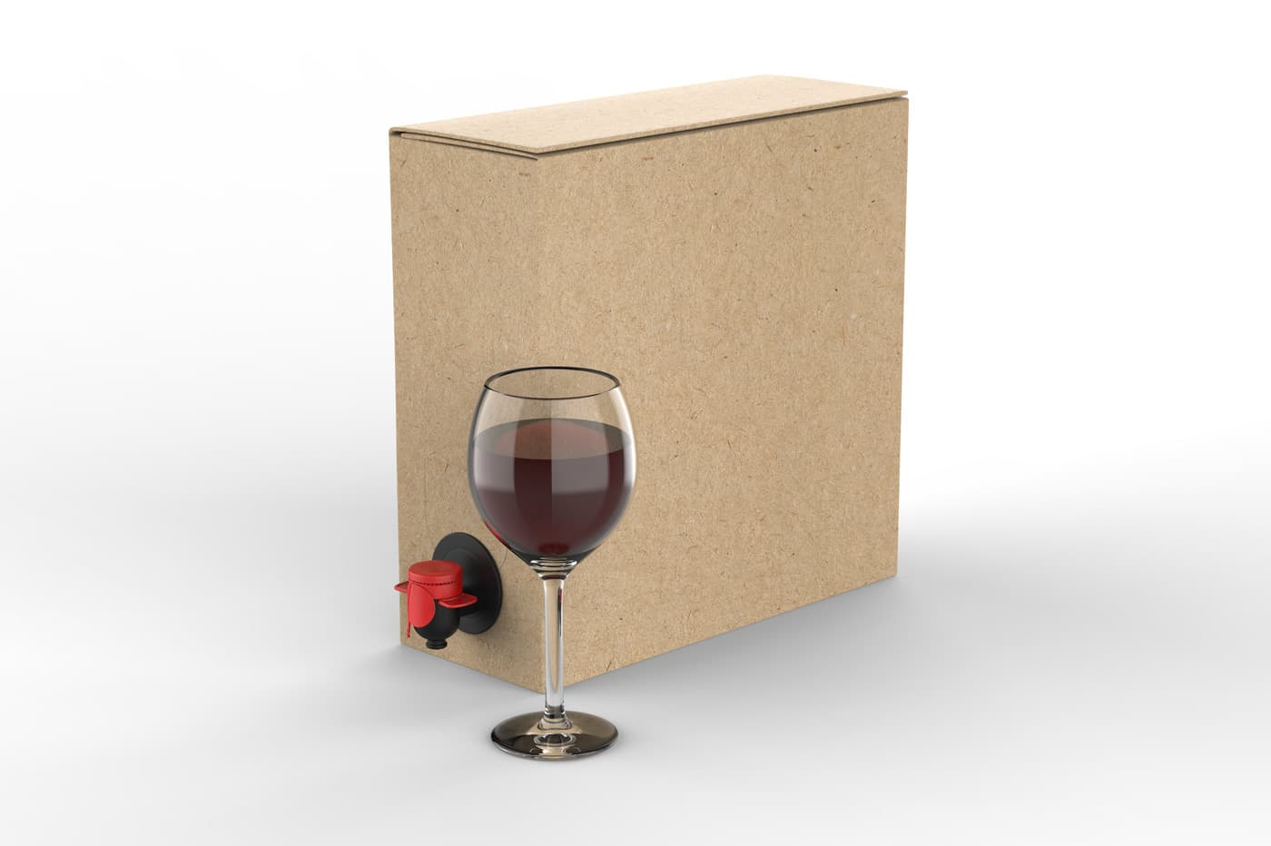 Venta de vino bag in box para restaurantes
